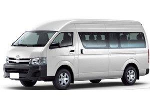 rental minibus example