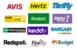 Australian car rental brands